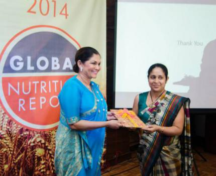 Launch of Global Nutrition Report 2014 in Sri Lanka