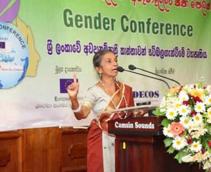 Gender Conference 2014 Inspires the Women in Matara, Sri Lanka