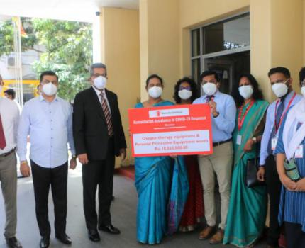 Save the Children Humanitarian Assistance for Covid-19 Response supports Ministry of Health to combat the pandemic.