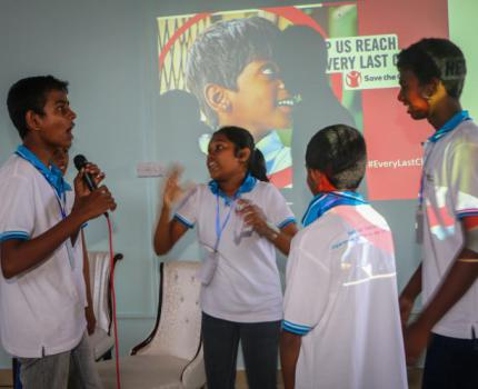 Pre-Launch and Children's Consultation of Every Last Child Campaign in Sri Lanka